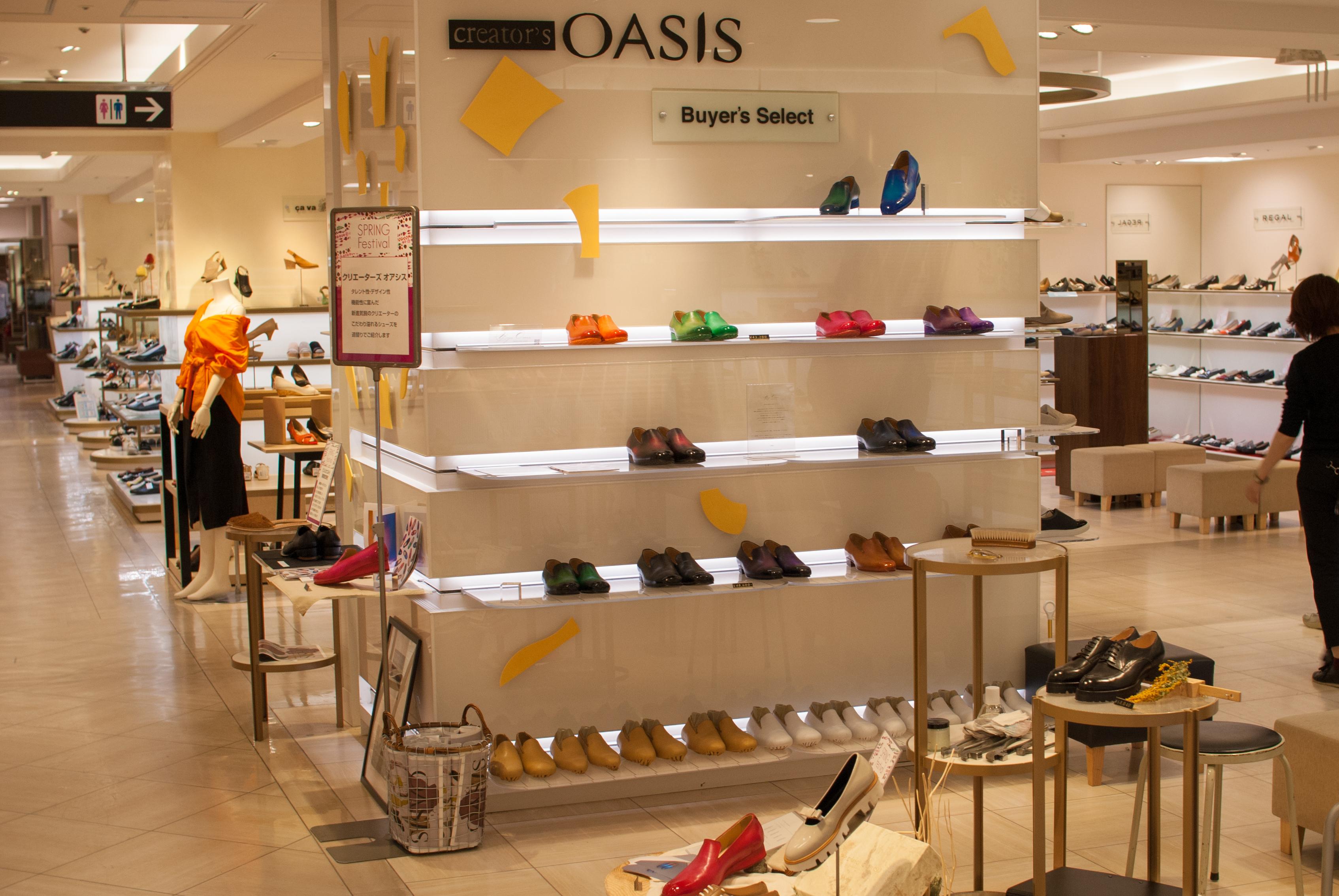 yojiomi 革靴 大阪高島屋 OASIS